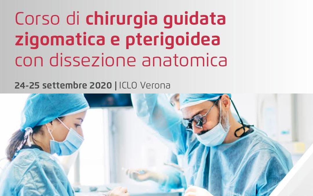 Corso di chirurgia guidata zigomatica e pterigoidea con dissezione anatomica
