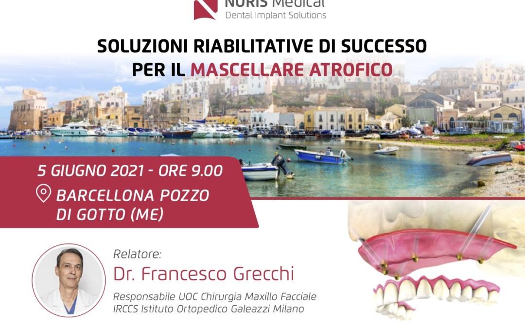 """""""SOLUZIONI RIABILITATIVE DI SUCCESSO PER IL MASCELLARE ATROFICO"""""""